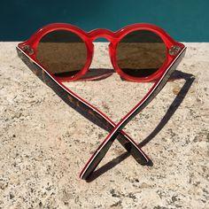 Zanzan 'Mizaru' sunglasses at Villa Necchi, Milan! http://zanzan.co.uk/products/mizaru-3