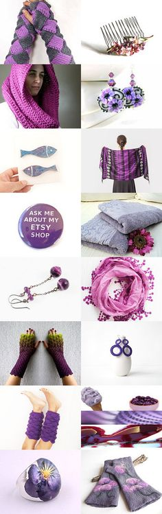 Purple Gifs by Aggie on Etsy--Pinned with TreasuryPin.com