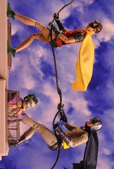 1966 Batman & Robin 2 pack action figures by Mattel