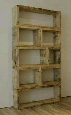 Simple pretty bookshelf