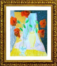 Flower. Painting. Artist Sergey Konstantinov.