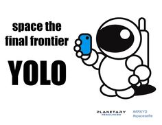 A frontier that's finally within reach to all of us with the ARKYD Space Telescope! #ARKYD #spaceselfie