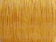 Cordino cotone cerato 1mm arancio chiaro