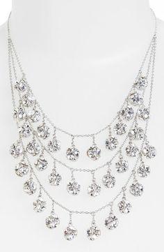 Kate Spade Mini Fringe Bib Necklace