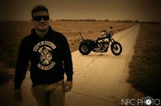 Shooting moto, Harley Davidson.