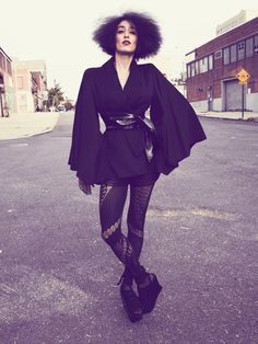 NYC This Way  GO TO ARTICLE »  Photography ROBBIE FIMMANO  Stylist SARAH ELLISON  On Ladyfag, 35.