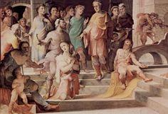 Seleuco re di Locri (1529-1535; Siena, Palazzo Pubblico, Sala del Concistoro)