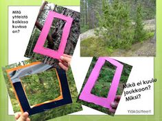 Open ideat: Metsä-teema, osa 1 Mika, Environmental Science, Nature Crafts, Forest Animals, Science And Nature, Frame, Home Decor, Tieto, Art