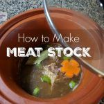Recipe for gelatin rich meat stock to be used instead of bone broth for those with leaky gut in the beginning stages of healing.
