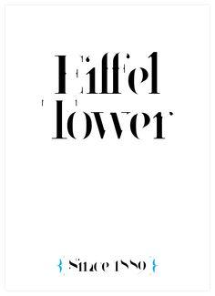 Paris Typeface - New Typeface by Moshik Nadav Typography