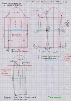 Pattern Drafting Tutorials, Easy Sewing Patterns, Sewing Tutorials, Clothing Patterns, Tailoring Techniques, Techniques Couture, Sewing Techniques, Suit Pattern, Jacket Pattern