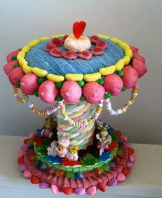 Manège en bonbon Smash Book Inspiration, Brownie Pops, Carousel Cake, Bar A Bonbon, Candy S, Candy Crafts, Chocolate Covered Pretzels, Occasion Cakes, Truffles