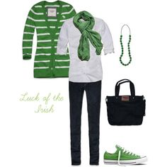"""Luck of the Irish"" by heather-rolin on Polyvore"