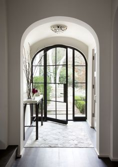 Arched Rehme Original Door | Rehme Steel Windows Doors