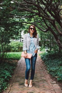 Style Within Reach: My Style: 4 Ways To Wear Denim This Fall