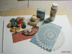 Creating polymer clay buttons