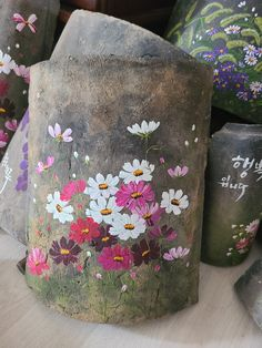 Roof Tiles, Colouring, Flower Art, Planter Pots, Anna, Home And Garden, Drawings, Flowers, Painting