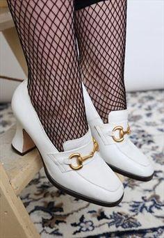 138 fantastiche immagini su Vintage shoes  d330b29c9d7