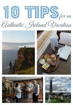 Tips to help you create an authentic Ireland vacation. Ireland travel tips   http://IrelandFamilyVacations.com