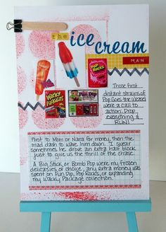 Childhood memories pages idea from Big Picture Classes...good idea!
