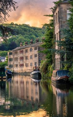 Hebden Bridge, Yorkshire, England                              …