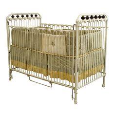 Tell what Antique victorian swinging bassinet little diva
