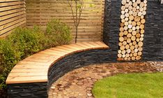 dream gardens: timber and slate
