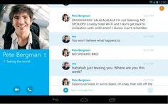 Skype pour Android mis à jour pour la version 4.4, apportent nouvelles l'interface utilisateurs - http://www.ccompliquer.fr/skype-pour-android-mis-a-jour-pour-la-version-4-4-apportent-nouvelles-linterface-utilisateurs/