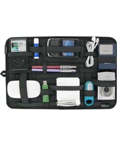 When was the last time you felt like you were on a treasure hunt in your purse or diaper bag? (If you're like us, earlier today.) That's exactly why we can't wait to use this organizer with rubber straps to keep tech devices, writing utensils, and more neatly tucked away. Click above to buy one!