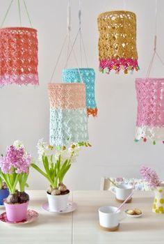 Beautiful Crocheted Lanterns Pattern