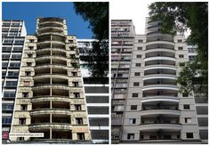 Then and Now - Abandoned hotel restored in Sao Paulo, Brazil