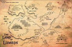 Gamehendge Map. $13.00, via Etsy. MUST. HAVE.