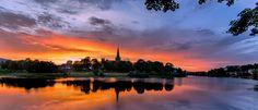 Sunset Over Nidarosdomen! by Aziz Nasuti on 500px