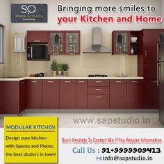 Modular Kitchens in Gurgaon Design Your Kitchen, Design Your Own, Marine Plywood, Kitchen Styling, Kitchens, Kitchen Cabinets, Spaces, Interior, Home Decor