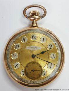 86407f18e92 Huge Audemars Freres 50mm 14K Gold Hi Grade Men s Antique Pocket Watch.  Relogio De Bolso AntigoRelógio ...