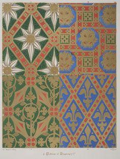 Augustus Pugins Lovely Wallpaper Designs
