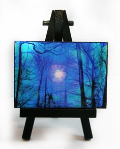 A personal favorite from my Etsy shop https://www.etsy.com/listing/127117985/winter-sunrise-easel-and-art-set