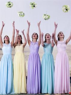 Bridesmaid Dresses A-Line, Bridesmaid Dresses Lace, Bridesmaid Dresses Vintage, Bridesmaid Dresses Simple, Bridesmaid Dresses Chiffon Bridesmaid Dresses 2018 Pastel Bridesmaid Dresses, Wedding Bridesmaid Dresses, Wedding Party Dresses, Prom Dresses, Prom Party, Pastel Dresses, Long Dresses, Bohemian Bridesmaid, Dresses 2016