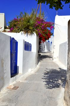 Megalohori Village, Santorini