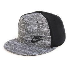 Men's Nike 'True Tech' Snapback Cap (€31) ❤ liked on Polyvore featuring men's…
