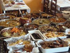 """Bufet """"El Tiberi"""" @ElTiberi #cuina tradicional casolana #catalana, Carn d'Olla, faves a la catalana... #Tarragona #restaurant"""