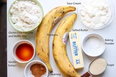 If you are not familiar with plantain bread (plantain cake), you are in for a treat. This bread is gluten-free, delicious, and is perfect for breakfast. Plantain Cake Recipe, Plantain Bread, Plantain Recipes, Gluten Free Pancakes, Pancakes And Waffles, Soda Cake, Waffle Mix, Recipe Steps, Pie Cake