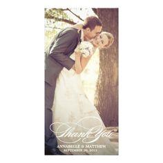 Elegant Thank You Script Wedding Overlay