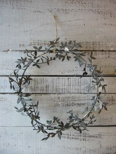 .      Jette Frölich's wreath  (via AKI interior space)    her things are so lovely - and so difficult to get hold of…