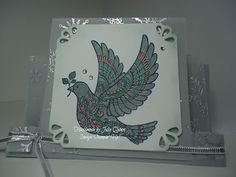 handmade by Julia Quinn - Independent Stampin' Up! Demonstrator: Dove of Peace step card
