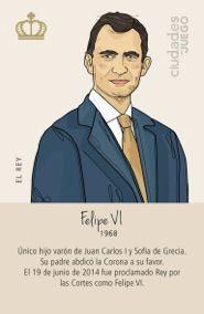 """Comodín de la baraja """"7 Familias reales de España"""""""