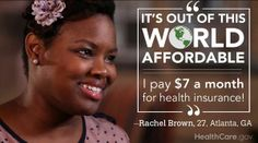Taking Care of My Health is No Act (By Rachel Brown): http://www.hhs.gov/healthcare/facts/blog/2014/03/rachels-enrollment-story.html.