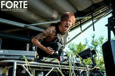 Crossfaith, Vans Warped Tour 2015 at Riverbend Music Center in Cincinnati, Ohio