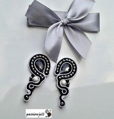 Soutache Gray Earrings