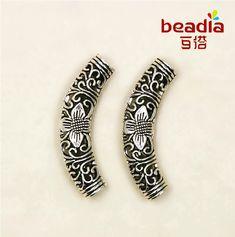 5pcs Charms Grand Trou Alliage rhinestines Loose Spacer Beads European Bracelet